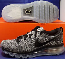 Nike Flyknit Max Oreo White Black Air SZ 7 /// Womens SZ 8.5 ( 620469-105 )