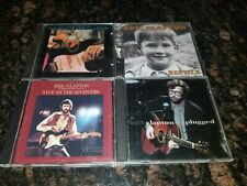 Lot of 4 Eric Clapton Cds - Reptile, Unplugged, Timepieces Vol. 1 / Vol. 2