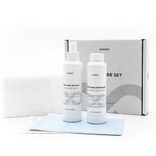 Pflegemittel Set 3 x Schwamm Reiniger Entkalker + Balsam Pflege für Granitspüle