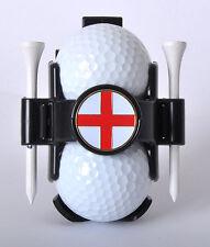 Ball Buddy Golf Ball Holder with National Flag Ball Marker - England