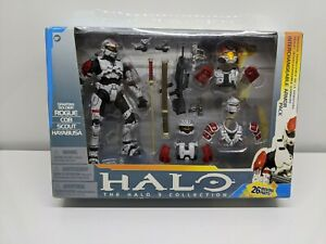 Halo 3 Spartan Soldier Rogue CQB Scout Hayabusa Armor Pack McFarland Toys