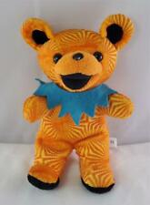 1998 Grateful Dead Bean Bear Steven Smith Plush Ashbury Orange Liquid Blue