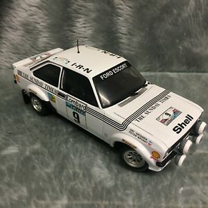 Sun-Star 1:18 Ford Escort Mk2 RS1800 Lombard RAC Rally 1977 Vatenen #9 4439