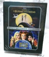 The Nightmare Before Christmas & Hocus Pocus ( Blu-ray, 2 Movie Set ) Disney