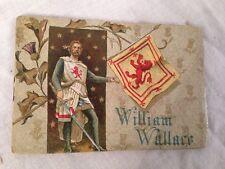 Colman's Christmas Miniature Book, WILLIAM WALLACE, Chromolithograph Victorian
