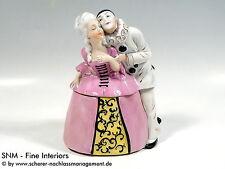 Porzellan-Figuren mit Dosen