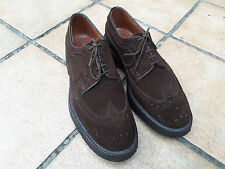 Barker for House of Gentlemen in Vienna, suede brogues derbies 6.5UK