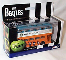THE BEATLES LONDON BUS HELP DIECAST MODEL, NEW BOXED CORGI CC82335