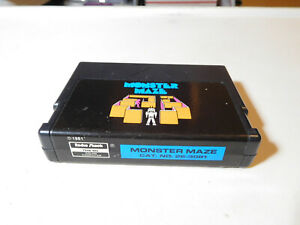 TRS-80 - Monster Maze - Tandy Coco color computer cartridge - WORKS