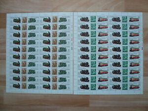 """DDR Bogen MiNr 2562-65,"""" Schmalspurbahnen  (I), FN4, Zähnung A, postfrisch"""
