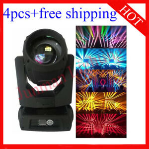 350W 17R Sharpy Beam Moving Head Light  DJ Stage Moving Head 4pcs Free Shipping