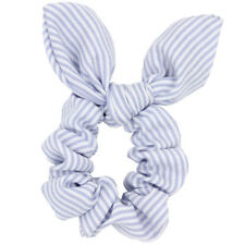 1pc Bunny Ear Bow Hair Scrunchies Ponytail Holder Hair Accessories for Girl