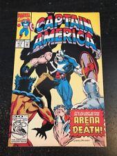 """Captain America#411 Incredible Condition 9.4(1993) Crossbones""""Arena Of Death"""""""