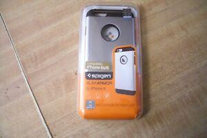 Spigen iPhone 6 /6S [Slim Armor]Case Cover Shockproof SGP10958 Satin Silver