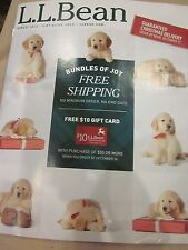 LL BEAN L.L. BEAN HOME CATALOG GIFT GUIDE 2015 BUNDLES OF JOY BRAND NEW