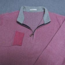 PETER MILLAR  SOFT COTTON GOLF SWEATSHIRT--L--SPOTLESS CLEAN!---