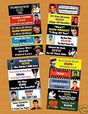 ELVIS PRESLEY Jukebox Title Strips Vol.3 Rare Songs