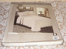Lamont Home Savannah Matelasse100% CottonTwin Bedspread Ecru Color 1 SPREAD ONLY