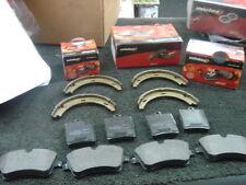 Mercedes clk200 clk230 clk240 clk270 Clk320 Clk430 Delantero Trasero De Pastillas De Freno De Zapatos