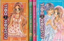 FASHION DOLL tomes 1 à 4  Mea Sakisaka SERIE COMPLETE manga shojo en français