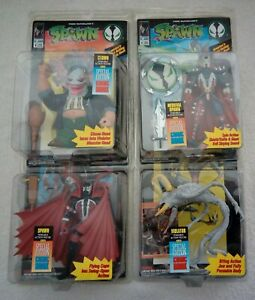 Lot of 4 Vintage 90's Spawn Action Figures