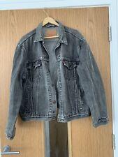 LEVIS Mens XL Denim Grey Jacket