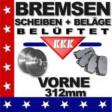 46 Bremsen VW TOURAN (1T1/1T2/1T3) 1,4 2,0 ab´05★EOS ab´06★Bremsscheiben+Beläge
