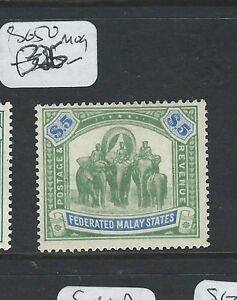 MALAYA FMS (PP2511B) ELEPHANT $5.00  SG 50    MOG