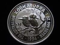 Australia. 1994 1 oz - Silver Kookaburra.... Games Privy..  BU/SPECIMEN