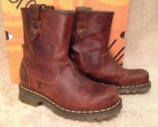 VERY RARE!  Dr. Martens Dryden Rigger Leather Boots 12785220, Sz.9, New in Box!