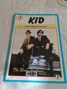 ELI KID, #7, YOUR ENGLISH MONTHLY, THE BLUES BROTHERS ON COVER.