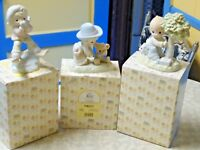 3 Precious Moments Enesco Figurines -  1992 -1994