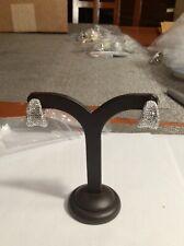 Joan Boyce Silver Beaded Earrings