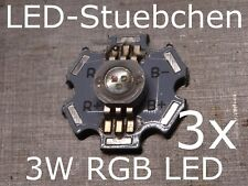 3x 3W RGB High-Power LED (3x1W) 350 mA