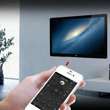 3.5mm IR Infrared Remote Control TV STB DVD Air-condition For Samsung LG iPhone