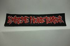 EXTREME NOISE TERROR LOGO   EMBROIDERED  PATCH