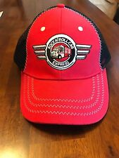 7f79724a664 ROCK N  ROLL EXPRESS SNAP-ON TOOLS HAT RED AND BLACK ADJUSTABLE NEW