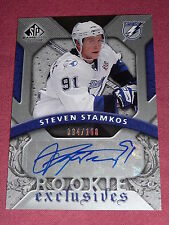 08-09 SP Game Used Rookie Exclusives Steven Stamkos Auto 94/100 RC L@@K!!
