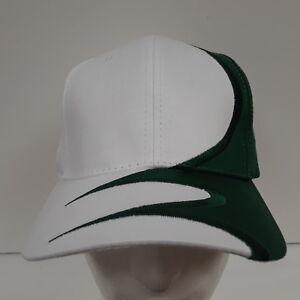 NEW Nissin Cap Hat Baseball White Green 22011 013