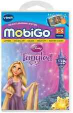 Vtech MobiGo Touch Learning System Game - Tangled NEW