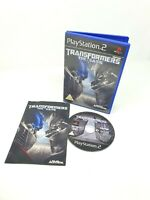 PS2 Transformers The Game Complete Genuine UK Pal VGC Playstation 2