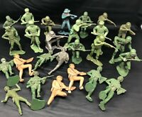 26 Figures Louis Marx Military And Others