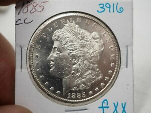 1885 CC Morgan Dollar # 3916