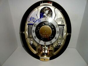 Seiko Clock - QXM487BRH - Melodies in Motion - Special Edition - 18 Songs
