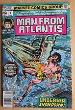 Marvel Comics, Man From Atlantis # 3 1978  Great Condition