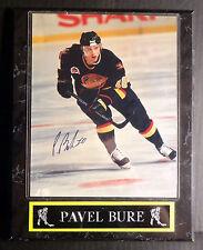 Pavel Bure Vancouver Canucks Signed Autographed 8x10 Photograph w/COA