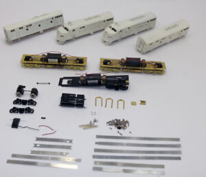 Lot of (4) OMI  Brass Frisco F-3 A,B Diesels PARTS ONLY NOT COMPLETE DC HO