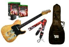 Xbox One Rock Band 4 Fender TELECASTER Butterscotch Guitar,Legacy Adapter,RBGame