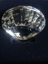 Rare Genuine Swarovski Crystal Collectible Clear Glass Oyster Home Ornament BNWB