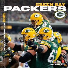 Nfl Calendar 2021 Green Bay Packers Wall Calendar 30x30 Calendar Football